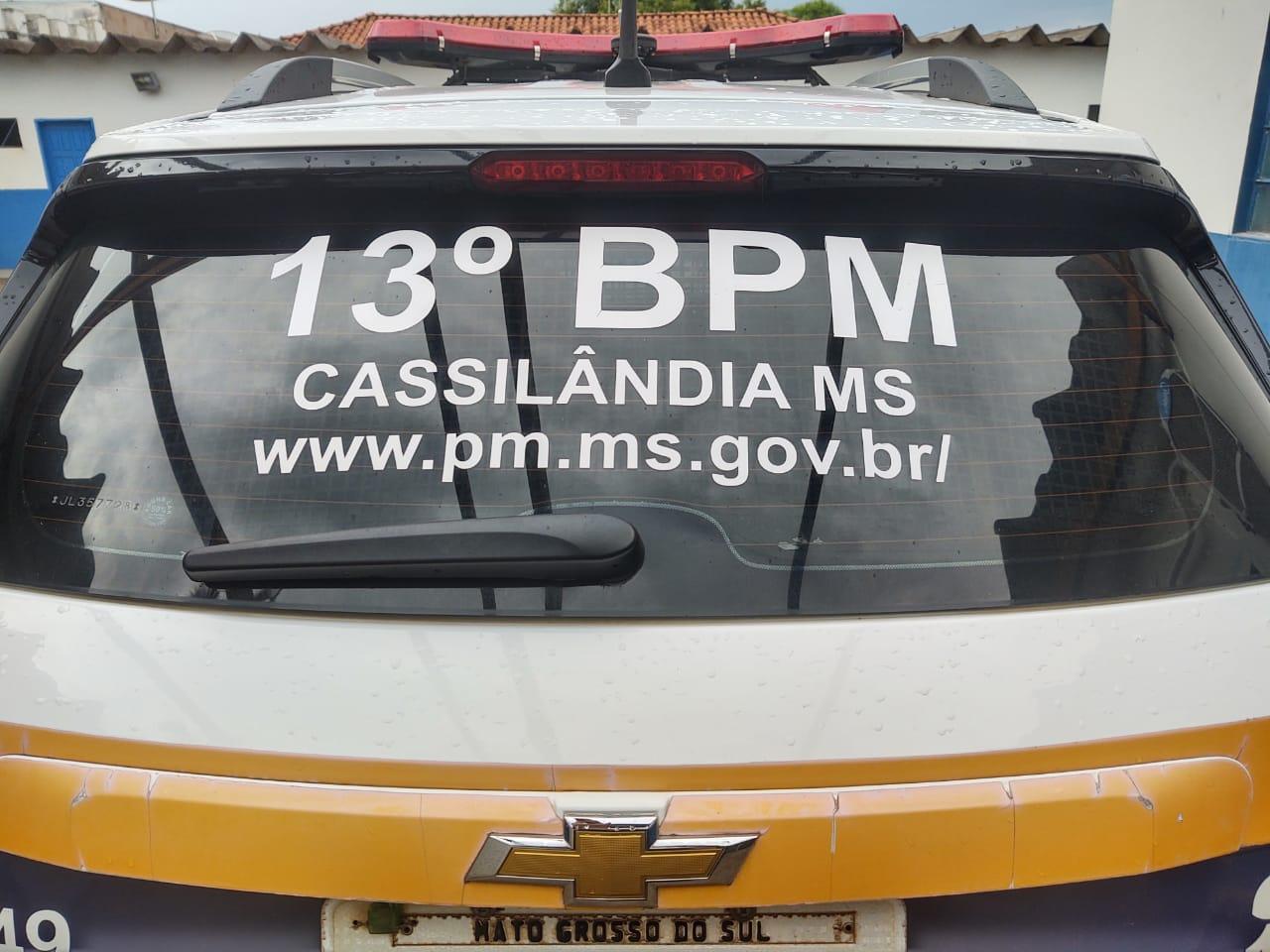 Loja é furtada em Cassilândia